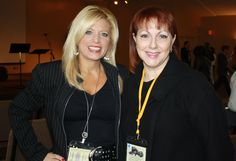 With Eva Marie Everson, FCWC co-director :)
