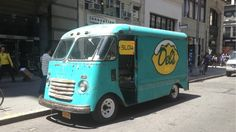 The most stylish food truck ever. 1949 Chevy Step Van