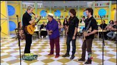 SBT - PROGRAMA DO RATINHO - 18-03-2015 - Ratinho e o grupo KLB - Kiko - Leandro e Bruno