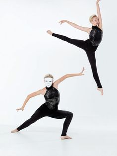 NEW! 2017 Collection Contemporary & Lyrical Costumes: Stretch velvet unitard with matching neckline and straps has fully-lined stretch sequin spandex bodice. Nude elastic stirrup straps are attached at the pant hem.  Includes mask, hanger and garment bag.