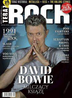 David Bowie cover of Polish magazine Teraz Rock, January 2016.