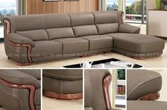 How To Use A Living Room Sofa For Maximum Space Utilization? Adams Furniture, Sofa Furniture, Furniture Design, L Shaped Sofa Designs, Sofa Set Designs, Living Room Sofa Design, Luxury Sofa, Leather Sofa, Chesterfield