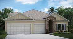 The Medallion Model by Lennar Homes in Cypress Trails at Nocatee
