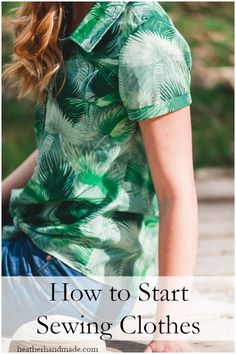 Learn how to start sewing clothes that you love and that fit you! This gives you direction to get started and takes you along my thought process when I start thinking about a new sewing project. Sewing Basics, Sewing Hacks, Sewing Tutorials, Sewing Tips, Sewing Ideas, Sewing Crafts, Sewing Patterns Free, Free Sewing, Sew Your Own Clothes