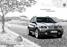 BMW  La Pubothèque, l'actualité publicitaire et créative ! https://www.facebook.com/lapubotheque #Advertising #Ad #Print #Commercial #Ads #Publicité #pub #brand