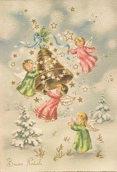 Vintage Christmas Images, Retro Christmas, Christmas Pictures, Christmas Angels, Christmas Art, Christmas Clipart, Christmas Greeting Cards, Christmas Printables, Christmas Greetings
