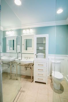 Nashville Bathroom Wainscoting Design, Pictures, Remodel, Decor and Ideas