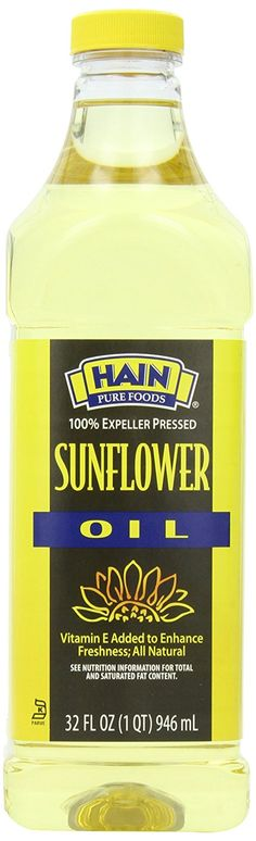Hain Pure Foods Sunflower Oil, 32 Ounce -- You can get more details by clicking on the image.
