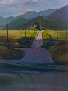 """The Road Home"" by Michele Usabelli. Beautiful!"