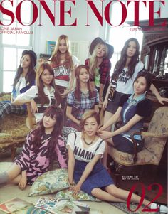 #SNSD ★ Girl Generation // SONE NOTE