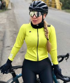 Cycling Outfits, Cycling Girls, Motorcycle Jacket, Bike, Athletic, Jackets, Women, Fashion, Bicycles
