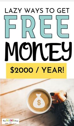 Discover the top legit free money hacks so you can start earning a few dollars here ! These are some of the easiest foolproof ways to get free money! Money Hacks, Money Tips, Money Saving Tips, Free Cash, Debt Free, Free Money, Save Money On Groceries, Groceries Budget, Money Saving Challenge