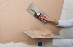 Home-Dzine - How to apply plaster to drywall and brick work
