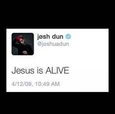 so glad my emo drummer is never afraid to testify of Jesus and his gospel :))