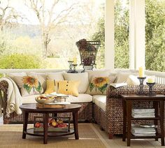 sunroom decorating ideas | Sunroom Furniture Ideas | New | Home Design | Decorating ...