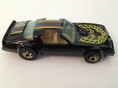 Vintage - Hot Wheels - Pontiac Trans-Am Firebird -Hot Bird - Black with Tan RARE