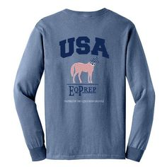 USA EqPrep - Long Sleeve EP-62 | Equestrian Prep Collection - Inspired by the Equestrian Lifestyle