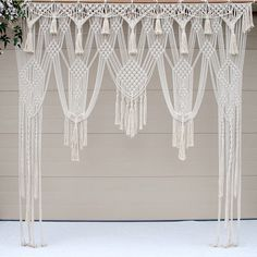 complex bohemian wedding wall hanging on etsy