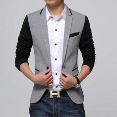 New Slim Fit Casual jacket -
