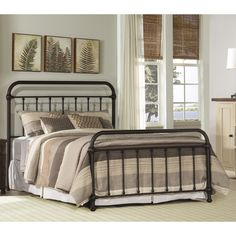 Shop for Hillsdale Furniture Kirkland Bed Set - Queen - Bed Frame Included, and other Bedroom Metal Beds at Outer Banks Furniture in Nags Head and Kitty Kawk, NC. Full Bed Frame, King Bed Frame, Hillsdale Furniture, Bedroom Furniture, Cabin Furniture, Furniture Outlet, Online Furniture, Camas King Size, Full Size Bed Sets