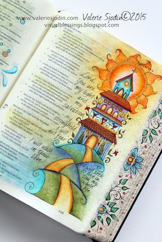 visual blessings: Living my Whole Life...Bible Art Journaling