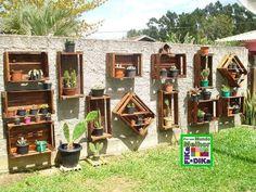 caixotes de feira no jardim - Pesquisa Google