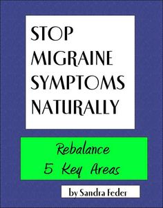 Migraine Prevention Requires Acid-Alkaline Balance
