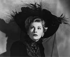 "Joan Fontaine en ""Abismos"", 1947"