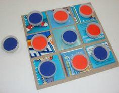 Como hacer un TA-TE-TI reciclado