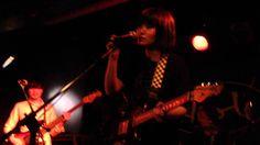 きのこ帝国 NMFT Vol. 6 @ The Rivoli (2014.5.16) Pt. 4 Guitar Girl, Tokyo, Japan, Band, Concert, Music, Musica, Sash, Musik