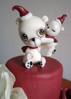 A really original and very cute Christmas cake by Tiziana Benvegna of Cakes Decor.