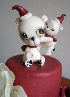A really original and very cute Christmas cake by Tiziana Benvegna of Cakes Decor.