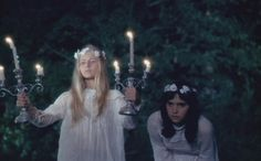 Two little faeries scurrying through the night...trying ever so hard to find their way home....