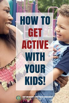 1! 5-2-1-0 Let's Go! recommends your kids get active for at least 1 or more hours a day! Better yet, get outside with your kids and get active too!  #MilitaryChild