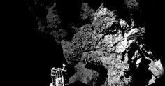 Fantástico!!!  Robô manda primeiras imagens após aterrissar em cometa