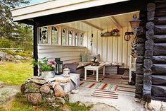 Casa Rustica Campestre en Noruega  /  Rustic Cottage in Norway