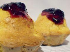 Muffins de Mango y Plátano