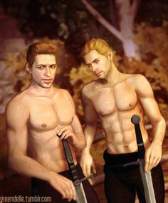 Alistair and Cullen: the two best men in the Dragon Age universe in the same…