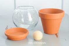 How to Paint Terracotta | make this: tutorial: how to make individual gumball machine party ...