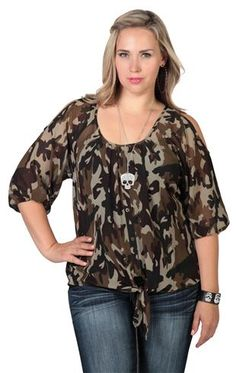 Details about Muddy Girl Plus Size Tank Top Womens Pink Camo Black ...