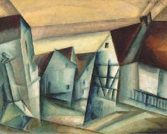 Artist: Lyonel Feininger Title: Mellingen V   Medium: oil on canvas   Size: 31½ x 39 3/8 in. This artist is using a repeted triangular shape through out his picture along with color to create an imiage of houses. I choose this picture because I really enjoy his work.