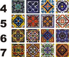 Pack Azulejos Mexicanos TALAVERA, varias medidas $ 220.0                                                                                                                                                      Más