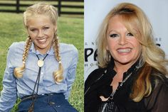 Charlene Tilton, then and now