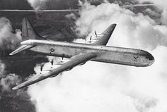 Convair XC-99, USAF prototype heavy cargo aircraft. The largest piston-engined land-based transport aircraft. 1 built.