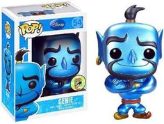 Totes want this it's an exclusive genie funko pop vinyl figure I have 32 of them probably gonna get it!!!!!