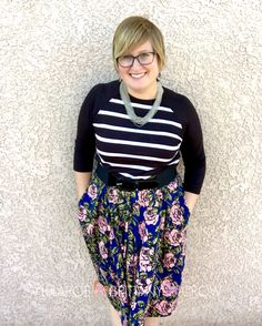 LuLaRoe Randy and Madison, florals and stripes ~ LuLaRoe Brittany Crow