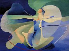 """Tullio Crali, """"Aerodanzatrice"""" (1931)."""
