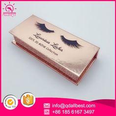 Factory wholesale custom eyelash packaging box with your logo, welcome to order 18561673497 Luxury Packaging, Beauty Packaging, Box Packaging, Packaging Design, Hair Extension Salon, Box Design, Eyelashes, Branding Ideas, Logo