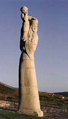 Our Lady of the Isles (Gaelic: Moire ro Naomh nan Eilean or Bana Thighearna nan Eilean) is a sculpture of the Virgin Mary, on South Uist in the Outer Hebrides of Scotland.