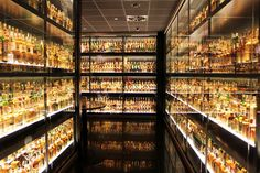 The Scotch Whisky Experience in Edinburgh. This is the largest private scotch collection. It is very cool.